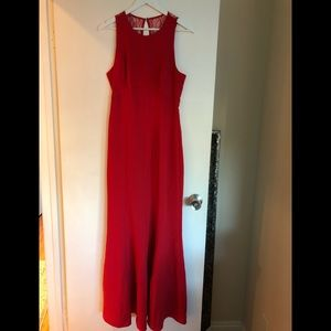 NWT sleeveless lace strap dress